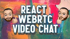 Create a React webRTC Video Chat Application Using Simple Peer