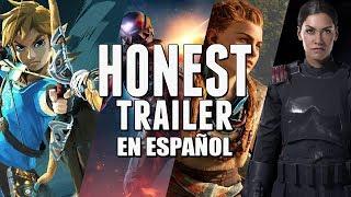REVIEW DE LO QUE FUE EL 2017(Honest Game Trailers en Español)