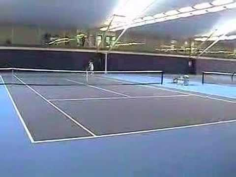 Some vintage Andy Murray groundstroke practice for all my court level fans