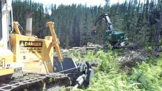Cable Assisted Steep Slope Harvesting