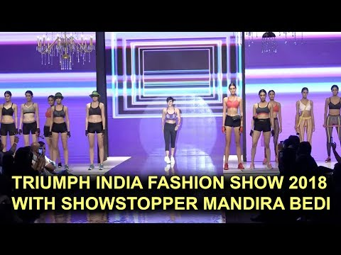 Triumph India Fashion Show 2018 | Mandira Bedi As Showstopper | TVNXT Bollywood