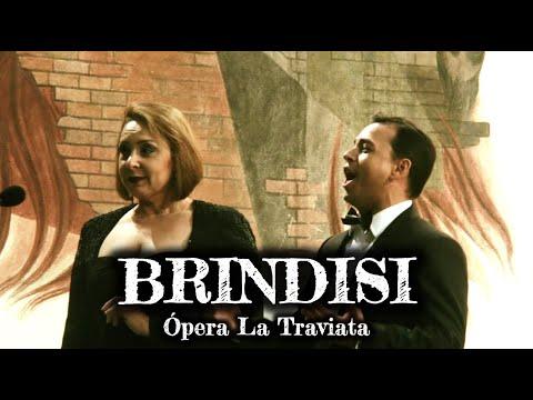 Ópera La Traviatta - Libiamo ne' lieti calici