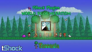 Terraria (TShock) - PLUGIN: WORLD REGENERATION