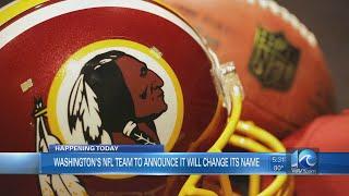 Reports: Washington to shed 'Redskins' name Monday