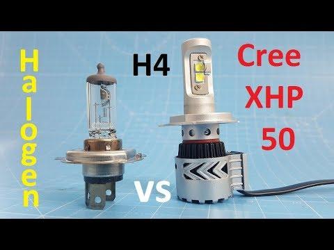 Cree XHP 50 H4 Four Chip LED Bulb 2017