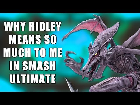 Why Ridley Means SO MUCH In Smash Bros. Ultimate