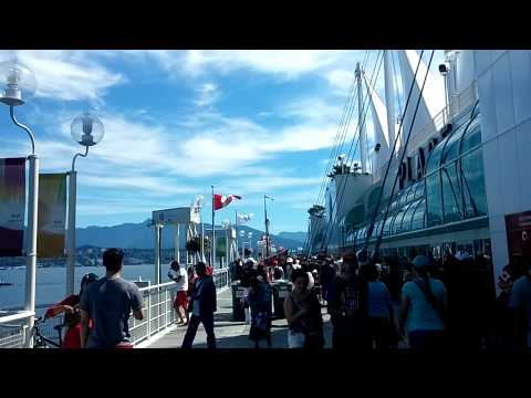 2014 Canada day in Canada trail in Canada place of downtown Vancouver