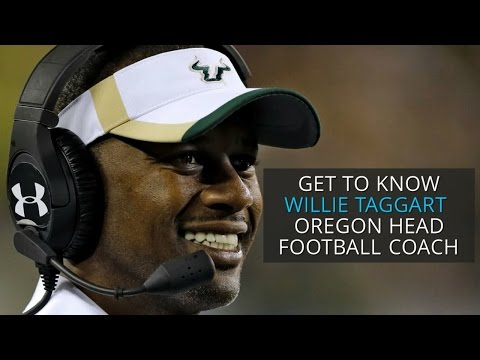 Get to know Willie Taggart, Oregon Ducks head football coach