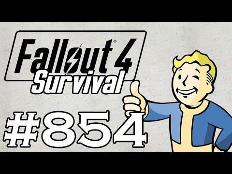 Let's Play Fallout 4 - [SURVIVAL - NO FAST TRAVEL] - Part 854 - Far Harbor P36