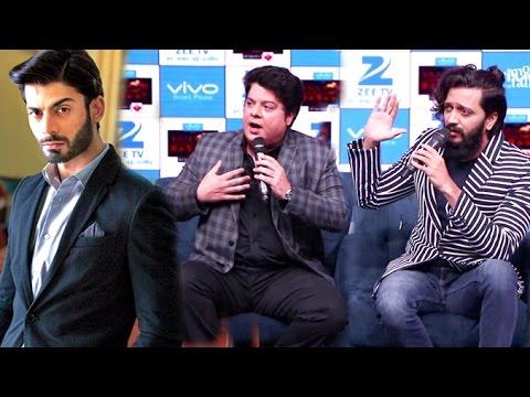 Riteish Deshmukh & Sajid Khan On Pakistani Actors