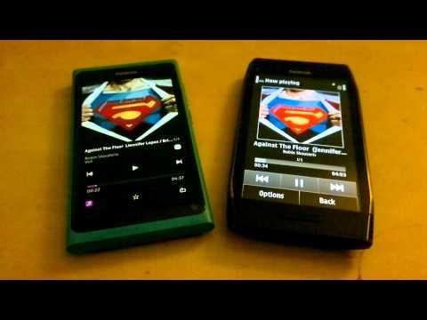 Nokia N9 vs Nokia X7 speaker performance test