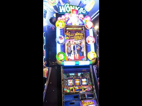 Huge Win Willy Wonka 3 Reel Max Bet Youtube