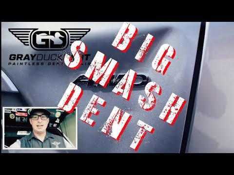 Honda CRV BIG Smash | Paintless Collision Repair | Minneapolis, MN