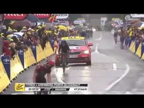 Tour de France 2014, Stage 5, highlights montage - Cobbles