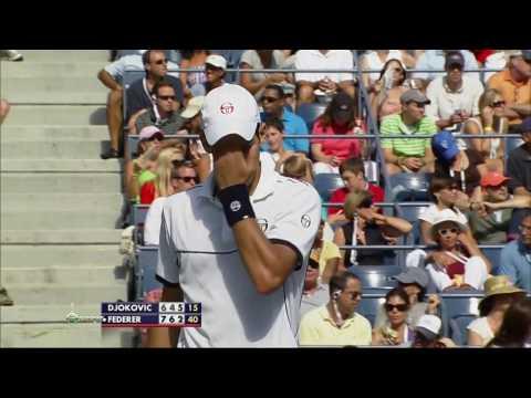 2011 - US Open - Semifinale - Novak Djokovic b Roger Federer (7)6/7 - 4/6 - 6/3 - 6/2 - 7/5 2 di 2