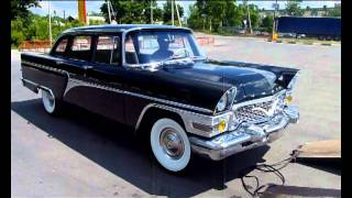 Реставрация автомобиля ГАЗ 13 Чайка