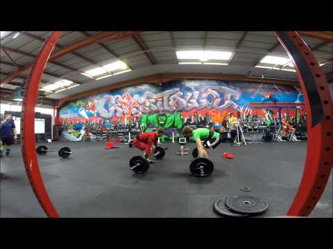 Team Thorium WOD4 Badgers