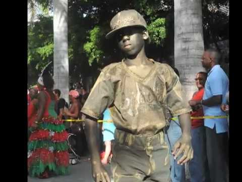 Caribbean Living Statues Festival 2nd Edition   St. Maarten 2012