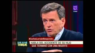 """Carlos Larraín """"Por ahí andan diciendo que yo mandé a hacer una autopsia especial"""""""