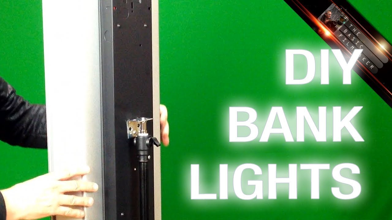 INSTRUCTION DIY Bank Lighting For Filmmaking Basic Filmmaker Ep 114 You