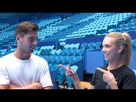 Team Great Britain quick quiz | Mastercard Hopman Cup 2019