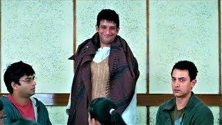 Три идиота (2009) - Пьяные студенты забрались ночью в дом директора