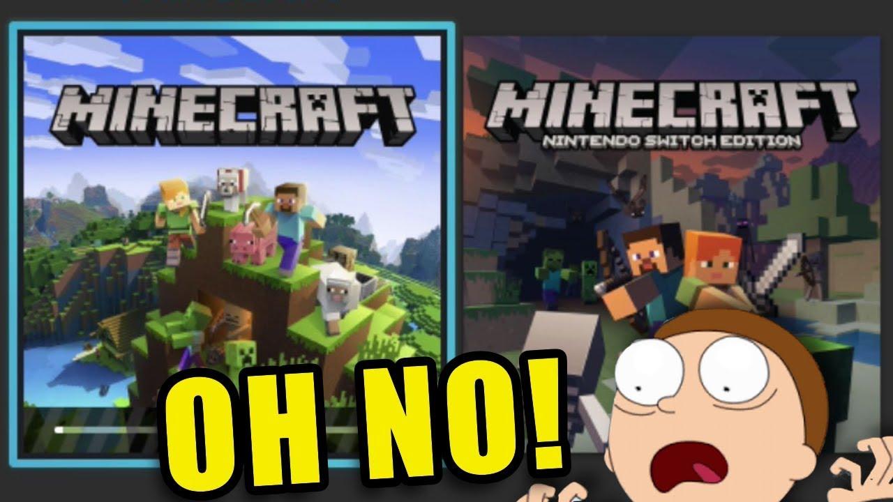 OHNO! IT BROKE EVERYTHING* - MINECRAFT BEDROCK on Nintendo Switch