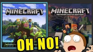 OHNO! IT BROKE EVERYTHING* - MINECRAFT BEDROCK on Nintendo Switch