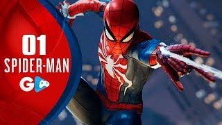 SPIDER-MAN PS4 - Homen Aranha, o INÍCIO, gameplay DUBLADO em português no PlayStation 4 PRO