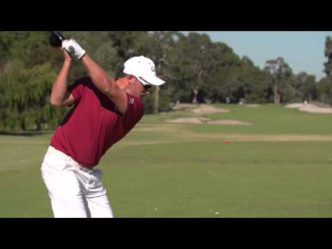 Queenslander Anthony Quayle chats after the 2015 Australian Interstate Teams Matches golf