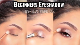 HOW TO APPLY EYESΗADOW FOR BEGINNERS : MUST SEE!