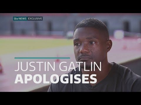 Exclusive: Justin Gatlin apologises for the first time