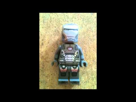 Official LEGO Iron Man 3 War Machine minifigure! Buy it now! thumbnail