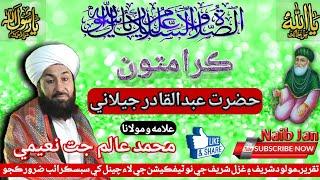 Karamat Ghous Pak || Muhammad Alam Jatt Naeemi || Full Taqreer || Naib Jan