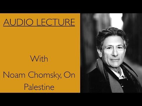 Edward Said With Noam Chomsky, on Palestine