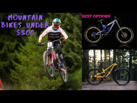 6 Best Mountain Bikes Under $500