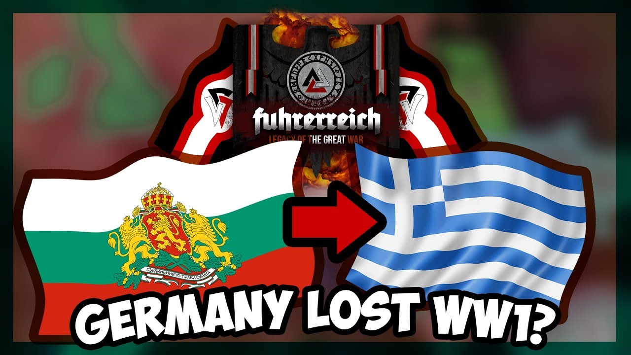 HOI4 | FUHRERREICH - #MakeBulgariaGreatAgain - AI ONLY [Hearts Of Iron 4]