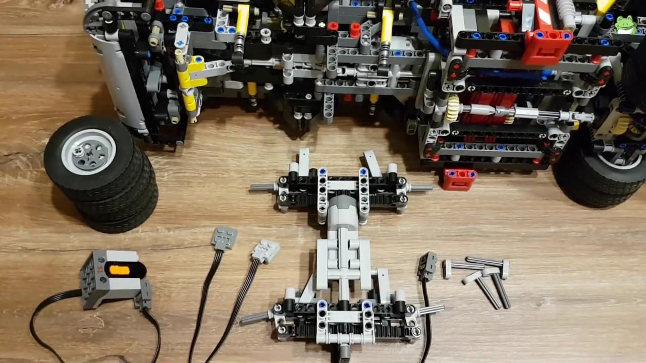 Lego Technic 42043 Rc Mod Instruction Mercedes Benz Arocs 3245