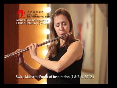 Marina Piccinini performs Claude Debussy's Syrinx