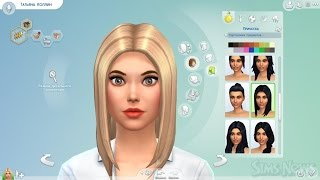 Создания персонажов Универ новая общага в Sims 4 !