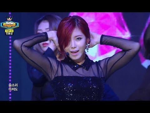 Jun Hyo-seong - Good-Night Kiss, 전효성 - 굿나잇 키스, Show Champion 20140611