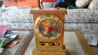 1964 Fisher Price Tick Tock Teaching Clock
