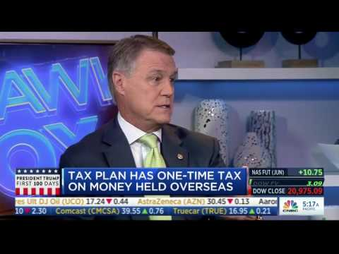 Senator David Perdue Discusses President Trump's First 100 Days On CNBC