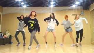 Wonder Girls &#39Like This&#39 mirrored Dance Practice