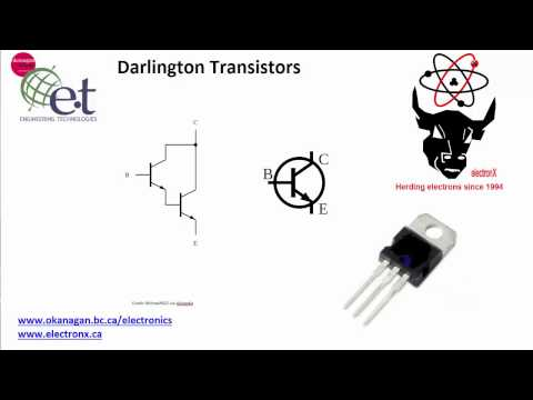 Darlington Transistors and Using Them as Switches