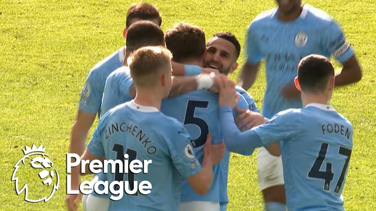 John Stones smashes Manchester City back ahead of West Ham | Premier League | NBC Sports