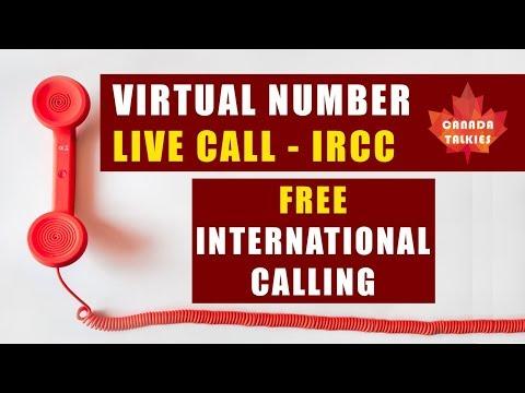Free International Calling | Virtual Number | Call IRCC - Canada
