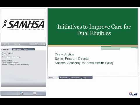 Medicare Basics and Dual Eligibles
