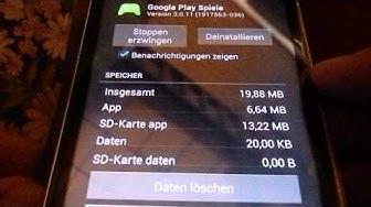 Google Play Games Fehler Reset Daten löschen