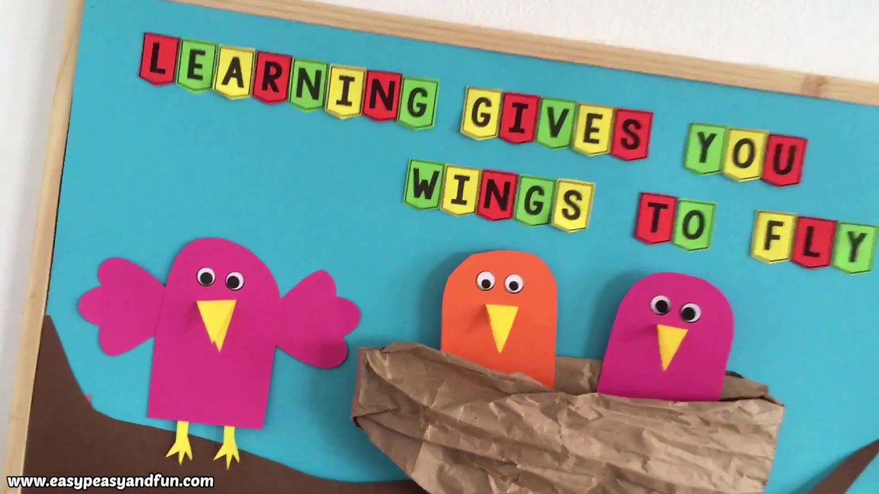 Spring Bulletin Board Ideas For Your Classroom Youtube